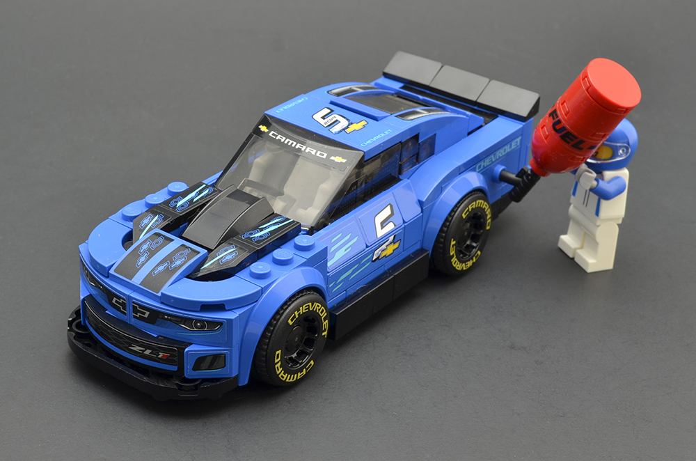 LEGO Speed Champions 75891 Chevy Camaro ZL1 Race Car Review 6