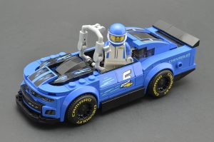 LEGO Speed Champions 75891 Chevy Camaro ZL1 Race Car Review 7 300x199