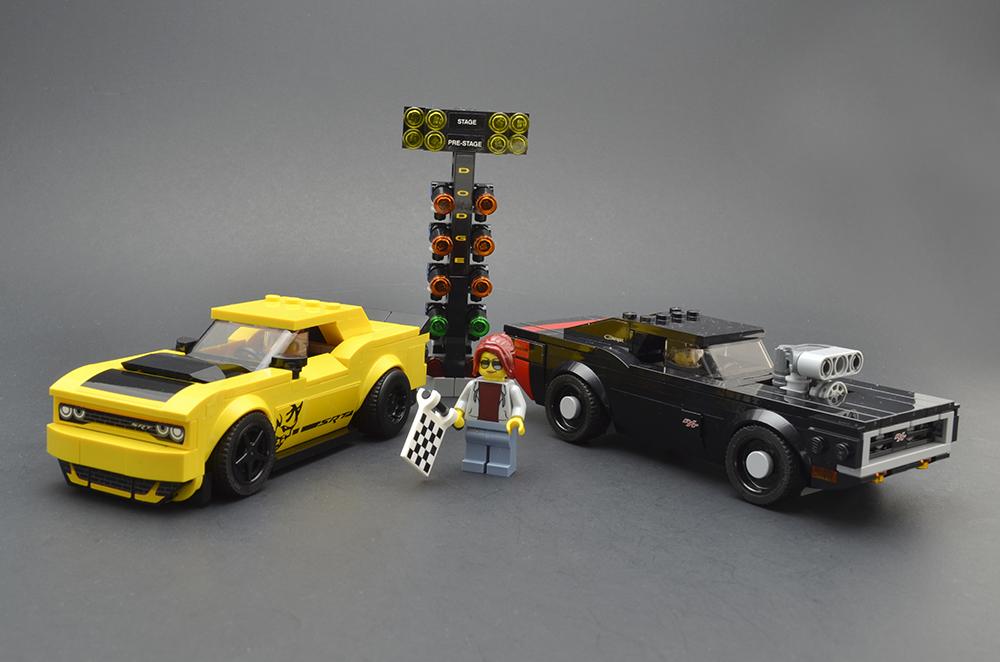 LEGO Speed Champions 75893 2018 Dodge 18