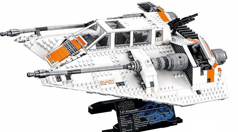 LEGO Star Wars 75144 Snowspeeder Featured 800 445 800x444