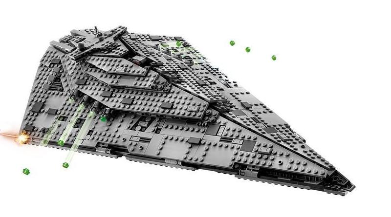 LEGO Star Wars 75190 First Order Star Destroyer Featured 800 445