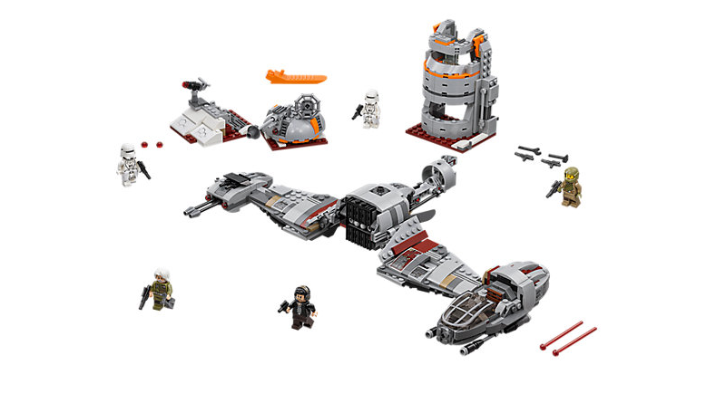 LEGO Star Wars 75202 Defense Of Crait Featured 800 445