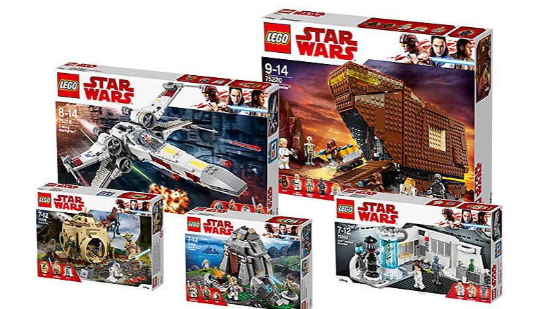 LEGO Star Wars Luke Skywalker Life Bundle Featured 800 445