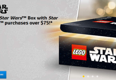 Free LEGO Star Wars Surprise Box with qualifying orders in the USA