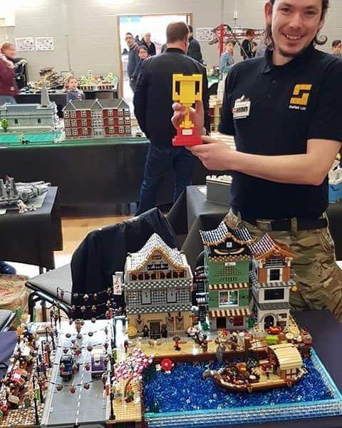 LEGO Fan Daniel Jarvis 1