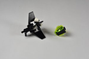 LEGO micro Blacktron instructions 7
