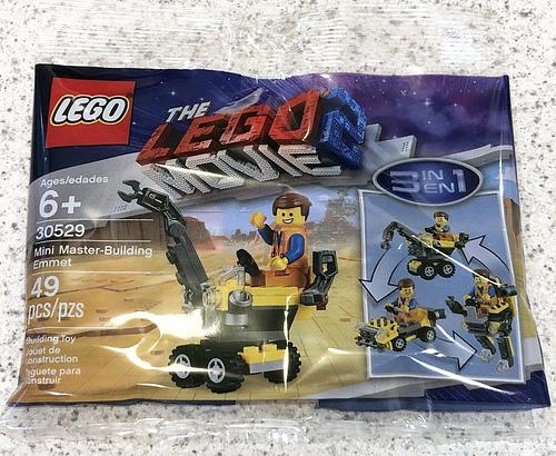 The LEGO Movie 2 30529 Mini Master Building Emmet