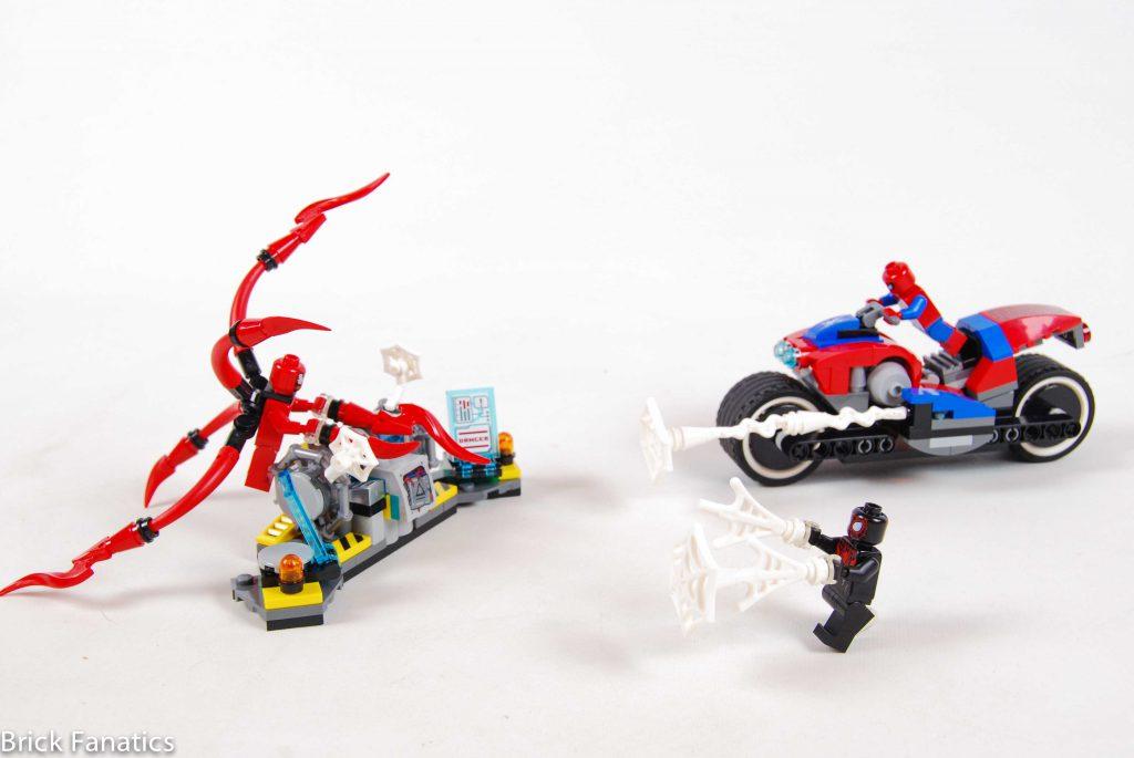 76113 Spider Man Bike Rescue 1