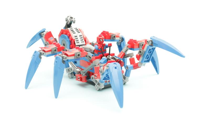 76114 Spider Man S Spider Crawler Title