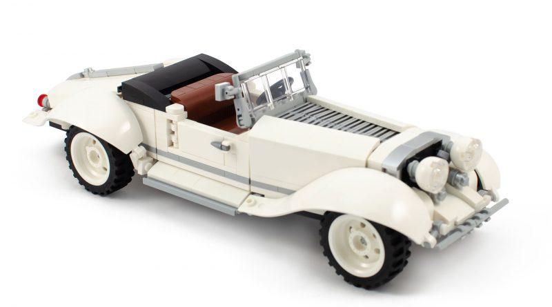 AFOL Designer Vintage Roadster 800x445