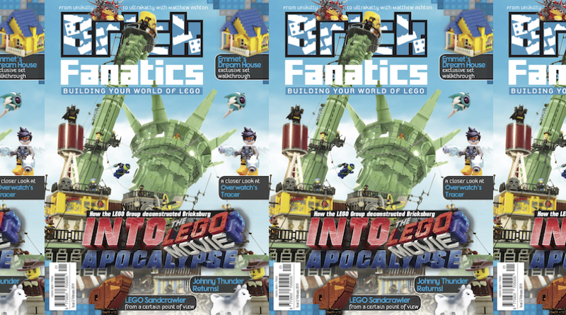 Brick Fanatics Magazine Issue 2 Cover Title