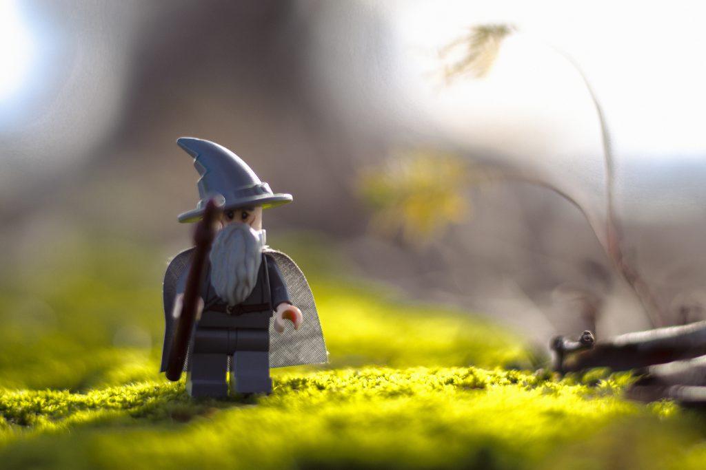Brick Pic Stroll Gandalf
