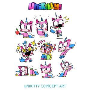 Concept Rough Sketches 1 Unikitty 300x300