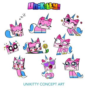 Concept Rough Sketches 2 Unikitty 300x300