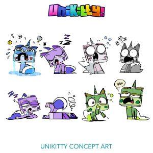 Concept Rough Sketches 3 Unikitty 300x300