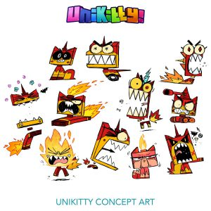 Concept Rough Sketches 4 Unikitty 300x300