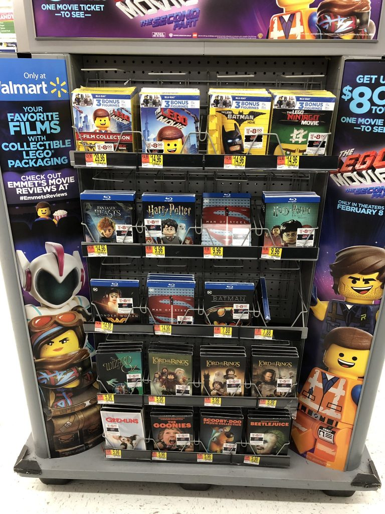 New Lego Movie Blu Ray Editions With Bonus Minifigures At Wal Mart