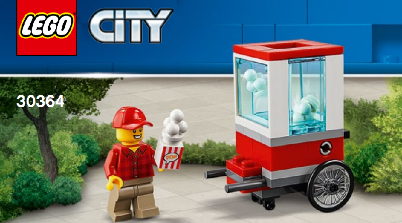 LEGO City 30364 Popcorn Cart Featured 800 445