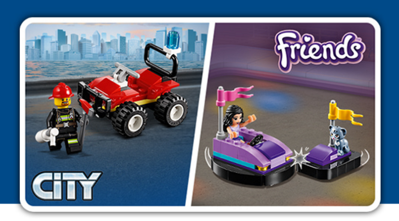 LEGO City Friends polybag promo featured 800 445