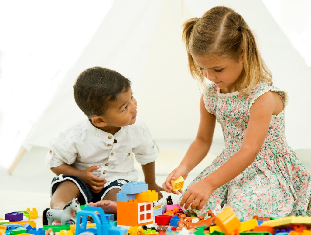 LEGO DUPLO kids at play 1
