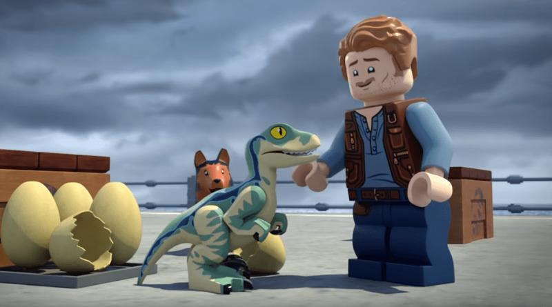LEGO Jurassic World Animated Featured 800 445 800x445