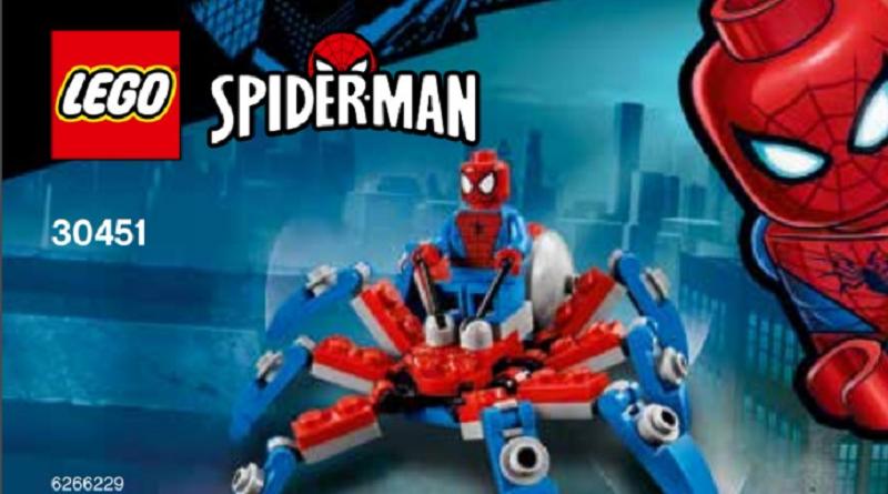 LEGO Marvel Spider Man 30451 Mini Spider Crawler featured 800 445