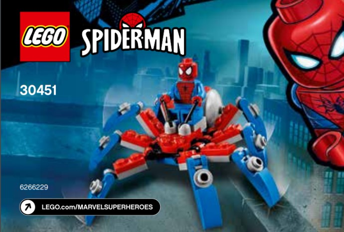 LEGO Marvel Spider Man 30451 Mini Spider Crawler