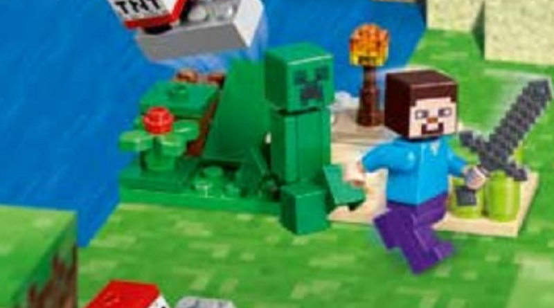 LEGO Minecraft 30393 Steve And Creeper Featured 800 445