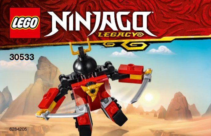 LEGO NINJAGO Legacy 30533 Samurai X 690x445
