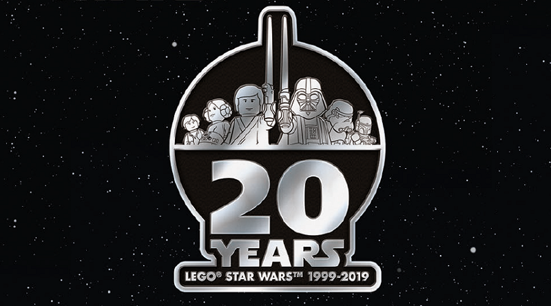 LEGO Star Wars 20 Anniversary Logo Featured 800 445 800x444
