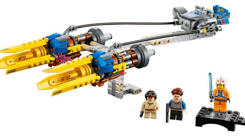 LEGO Star Wars 75258 Anakins Podracer 20th Anniversary Edition 800x445