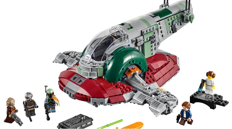 LEGO Star Wars Slave I 20th Anniversary Edition Featured 800 445
