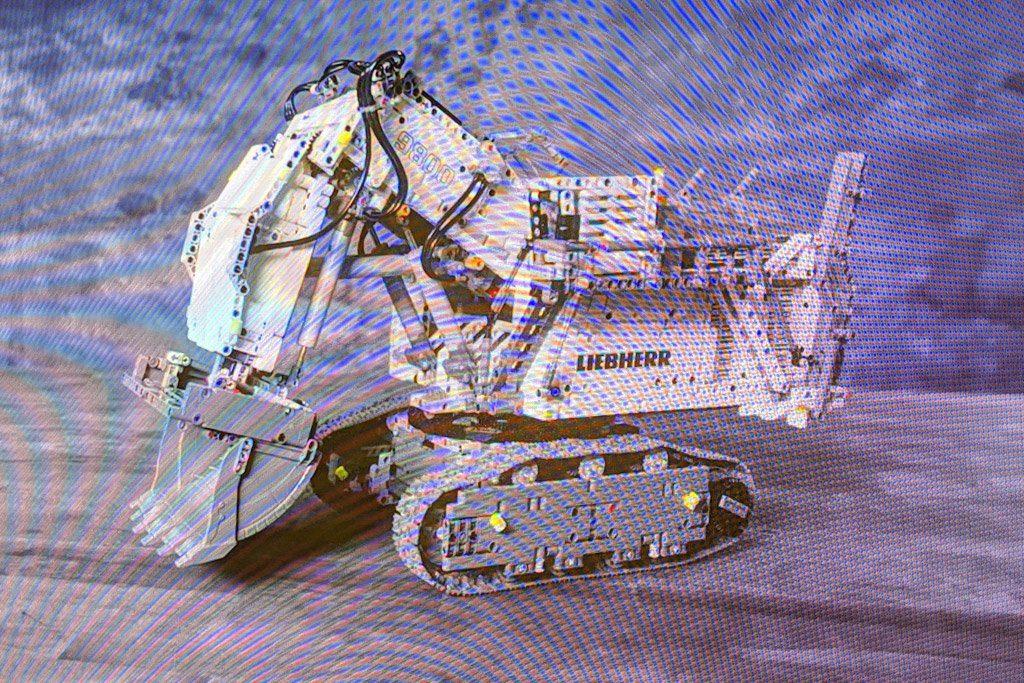 LEGO Technic 42100 Liebherr R 9800