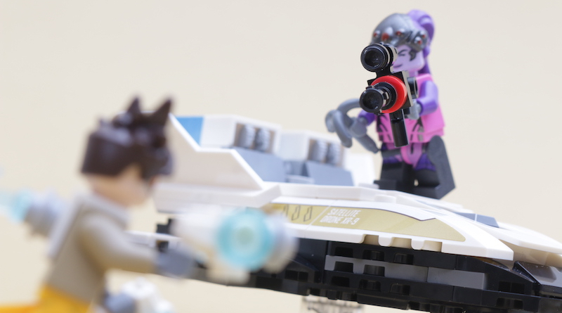 LEGO Overwatch 75970 Tracer Vs Widowmaker Review Title