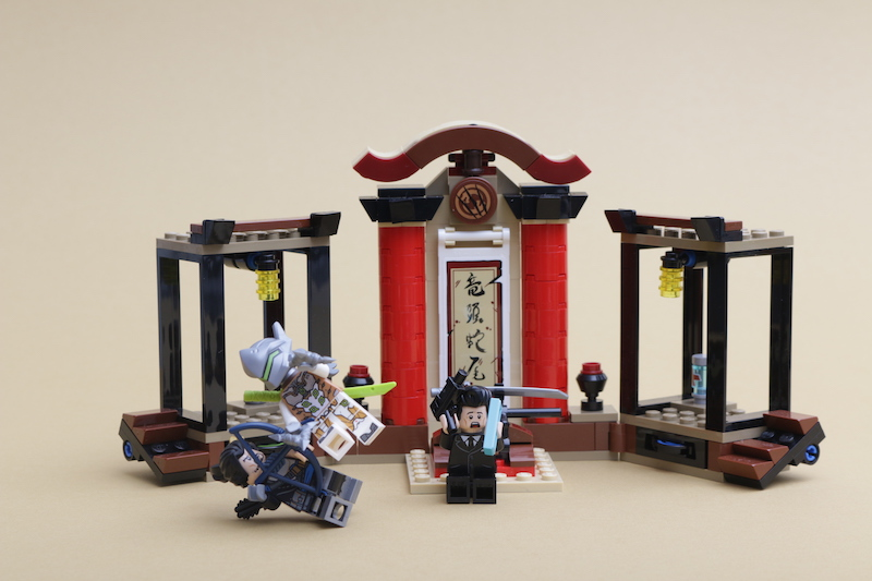 LEGO Overwatch 75971 Hanso vs Genji review main
