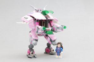 LEGO Overwatch 75973 D Va  Reinhardt Review 3 300x200