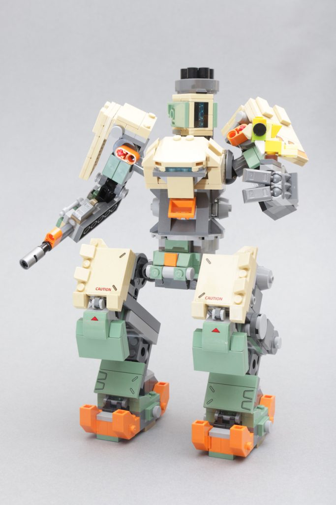 LEGO Overwatch 75974 Bastion Review 1 683x1024