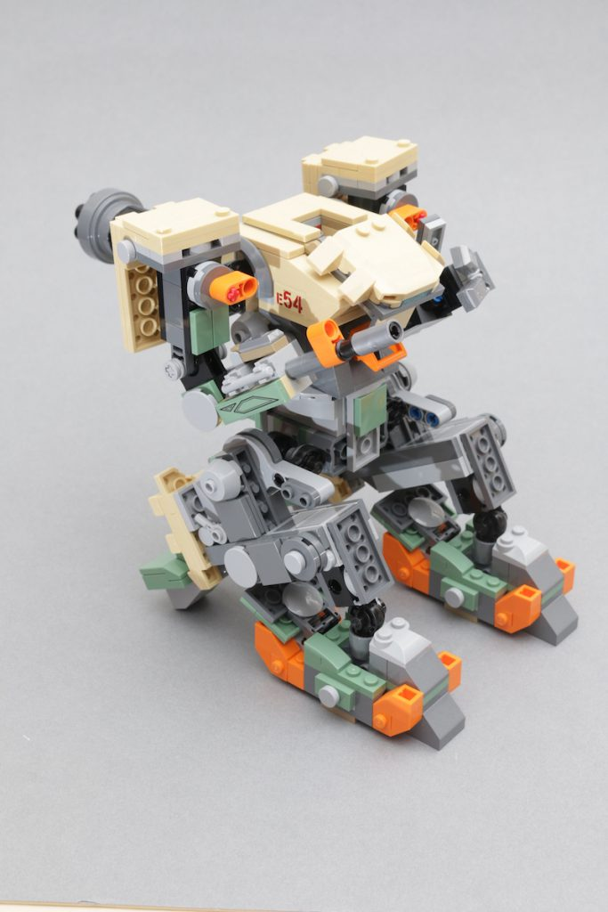LEGO Overwatch 75974 Bastion review 10