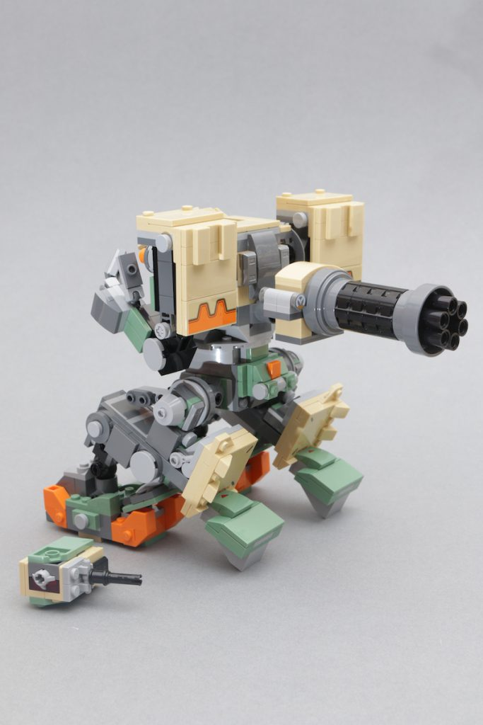 LEGO Overwatch 75974 Bastion Review 8 683x1024