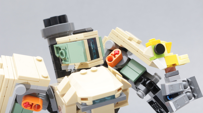LEGO Overwatch 75974 Bastion review title