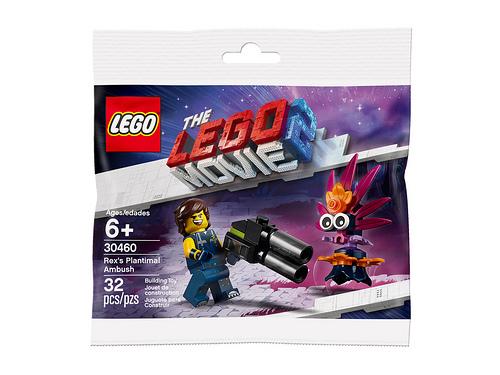 The LEGO Movie 2 30460 Rexs Plantimal Ambush 1