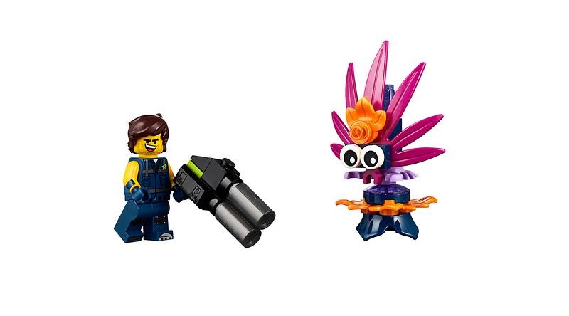 The LEGO Movie 2 30460 Rexs Plantimal Ambush Featured 800 445