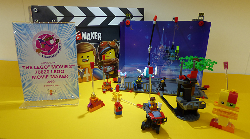 The LEGO Movie 2 70820 LEGO Movie Maker Hero Toy Featured 800 445