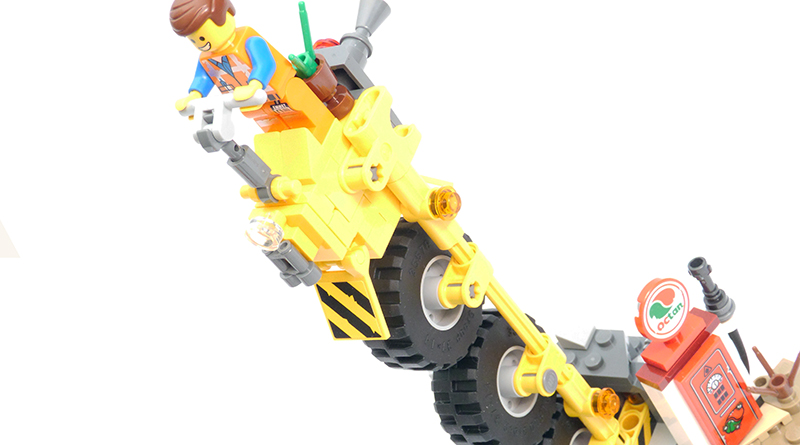 The LEGO Movie 2 70823 Emmets Thricycle Featured 800 445