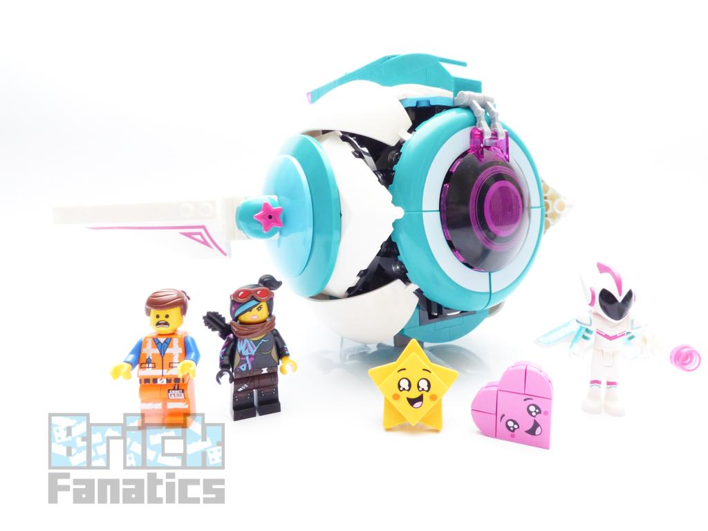 The Lego Movie 2 70830 Sweet Mayhem S Systar Starship Review