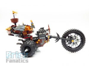 The LEGO Movie 2 70834 Metalbeards Heavy Metal Motor Trike 5 300x225