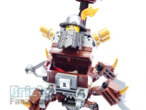 The LEGO Movie 2 70836 Battle Ready Batman Metalbeard 12 300x225