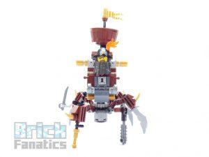 The LEGO Movie 2 70836 Battle Ready Batman Metalbeard 9 300x225