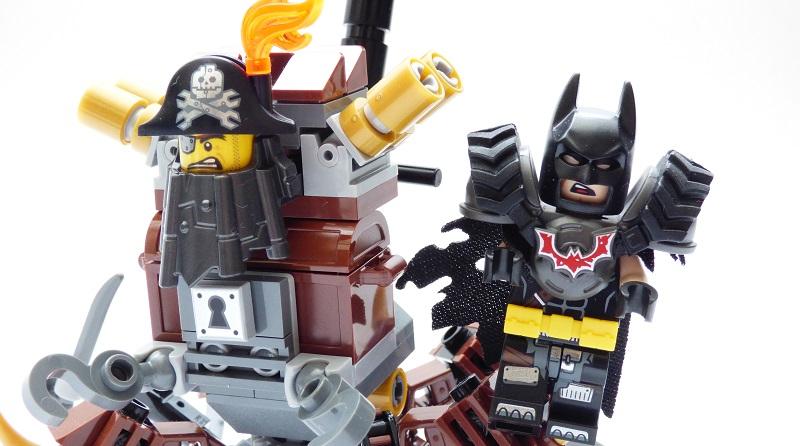 The LEGO Movie 2 70836 Battle Ready Batman Metalbeard Featured
