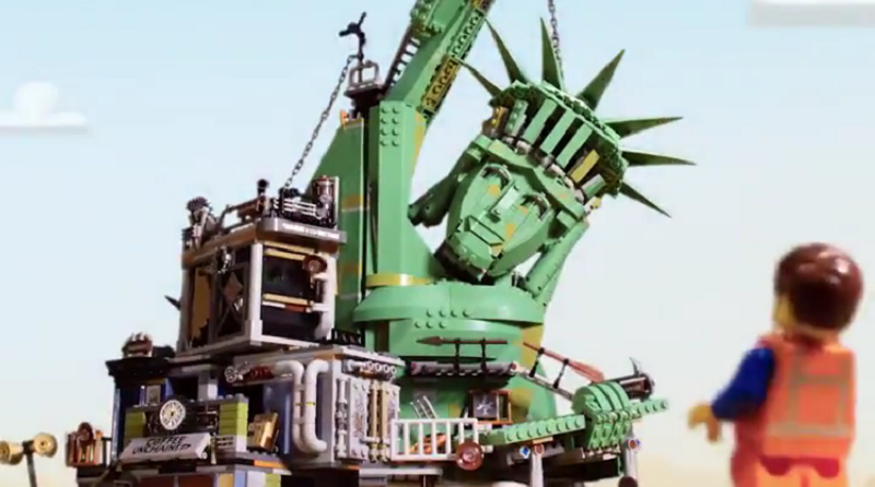 The LEGO Movie 2 70840 Welcome To Apocalypseburg Stop Mo Featured